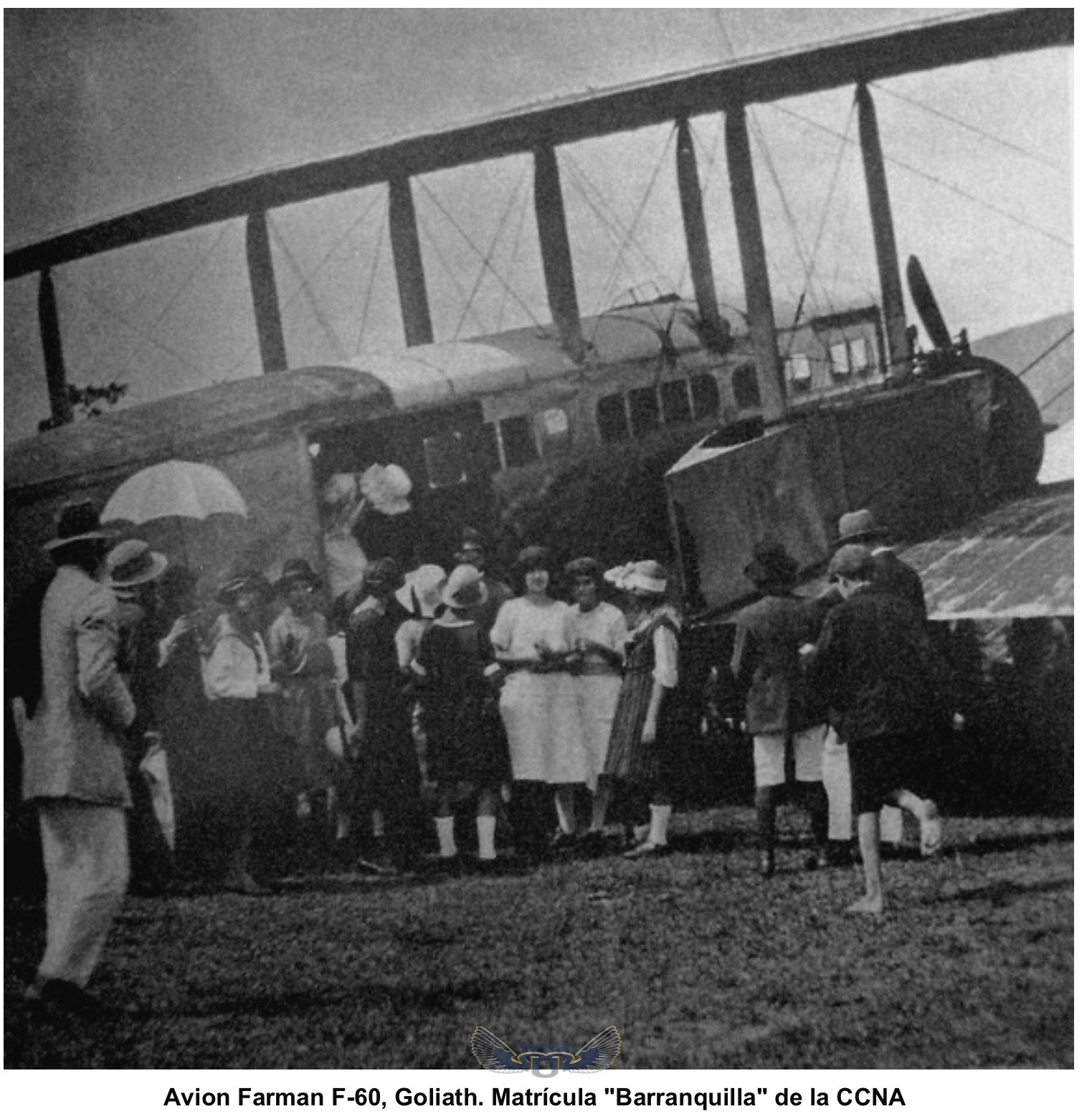 Farman F.60 Goliath en Medellin 1921